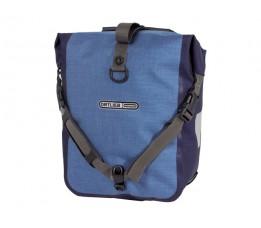 Ortlieb Tas Front/sport Roller Plus F6203 Denim-blue Ql2.1 (paar)