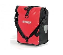 Ortlieb Tas Voor Front Roller Classic F6302 Red-black Ql2.1 (paar)