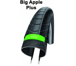 Schwalbe Buitenband  Big Apple Plus Hs 430 406-55 S/s Pl Refl.