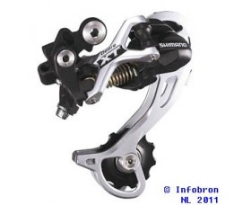 Shimano Derailleur Achter Xt M772 9-sp. Sgs Top-normal Shadow