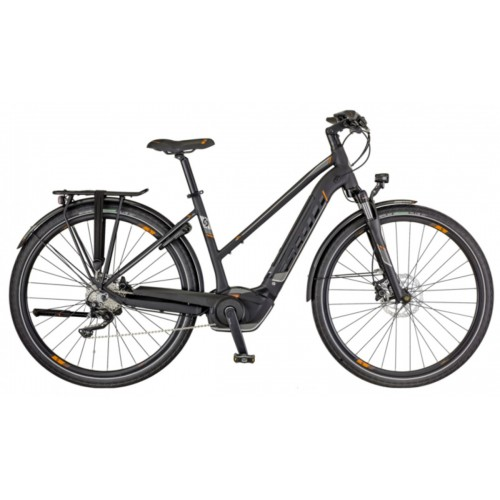 Scott Bike E-sub Sport 10 Lady, Zwart