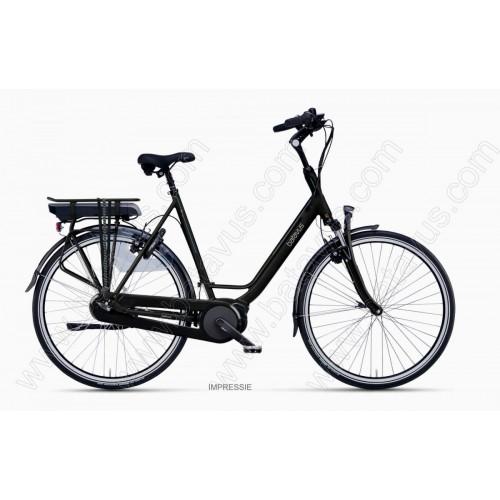 Batavus Wayz E-go® Active Plus 500wh, Zwart Mat