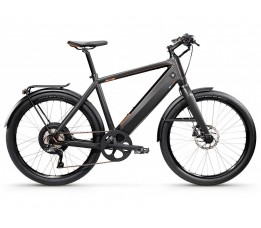 Stromer St1x 600wh Sport, Charcoal