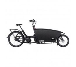 Urban Arrow Family Black Bosch Cx Discbr. 500wh, Black
